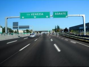 Италия- автомагистрала- Венеция