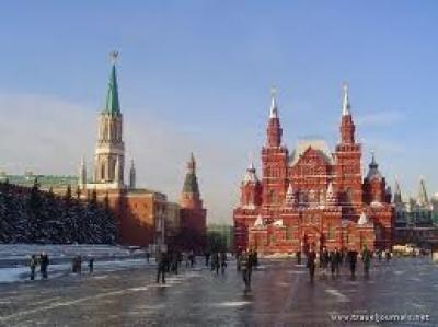 Москва, Кремъл през деня