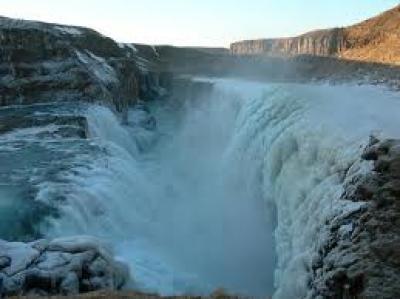 GullFOSS водопад Исландия