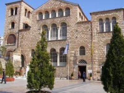 """Църквата """"Свети Димитър"""".  Солун"""