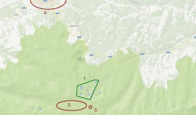 Точно местонахождение на седемте Рилски езера