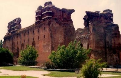 Бергама, Турция, Червената базилика