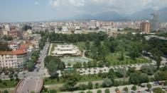 Централният парк на Тирана