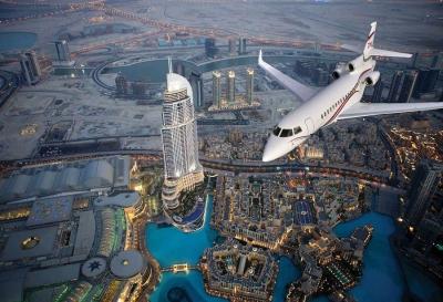 Дубай от височината на птичи полет