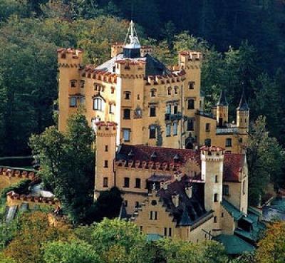 Замъка Хоеншвангау