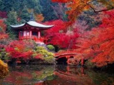 На почивка в Япония